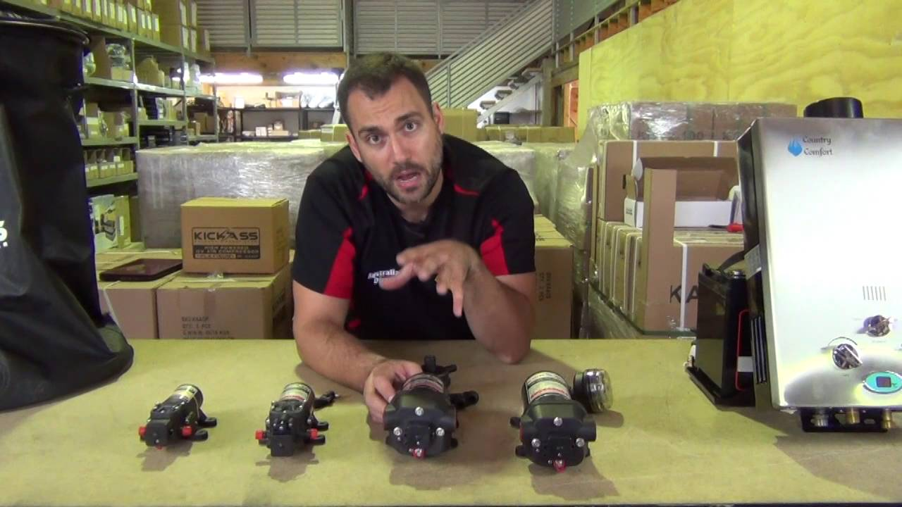Kickass 12v Pressure Pumps Youtube