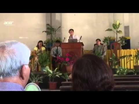 Service at NELAC ( North East Luzon Adventist College )