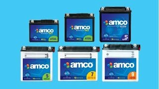 Amco Super Start 12V 3Ah New Battery