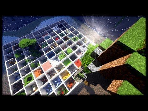 PARKOURMANIA - Minecraft Challenge Map - Parkour Paradise