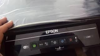 Erro Epson L395 Todos Leds piscando.