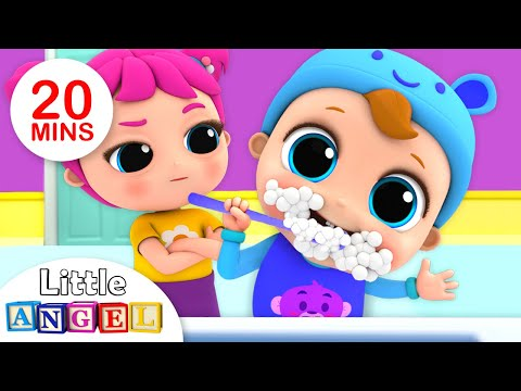 This is the Way We Brush Our Teeth | Kids Songs by Little Angel