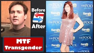 Male to Female Transgender Transition - 11 years HRT - Timeline Part 2 - Dramatic Changes