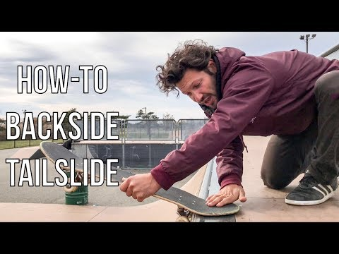 How To Bs Tailslide On A Mini Ramp