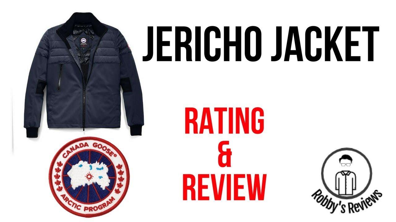 Rating and Revew: Canada Goose Jericho Jacket