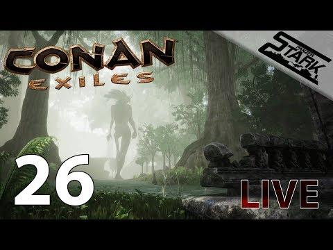 Conan Exiles - 26.Rész (A nagy előupdate) - Stark LIVE