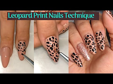 leopard-print-nails-technique-with-gel-polish-💅