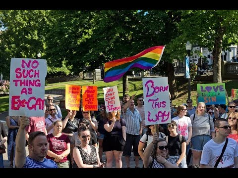 LGBT Halifax Protest Gay Conversion Therapy Seminar