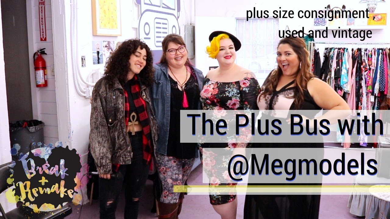 The Plus Bus - plus size consignment, used and vintage clothing ...