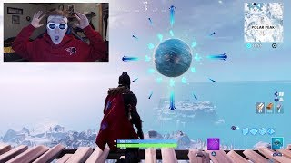 THE FORTNITE ICE SPHERE IS ACTIVATING RIGHT NOW!! - ICE STORM EVENT SEASON!