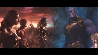 Justice League vs Thanos