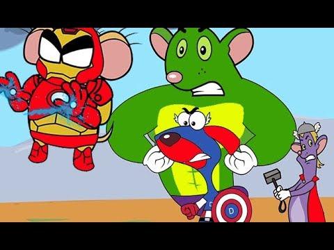 Rat-A-Tat |'RatVengers Battle Mice VS Doggy Animated Cartoons'| Chotoonz Kids Funny Cartoon Videos