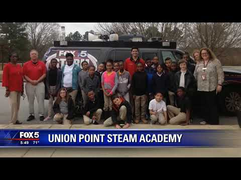 FOX 5 Storm Team visits Union Point Steam Academy