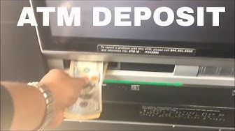 How To Make A Deposit At Your Bank Of America ATM