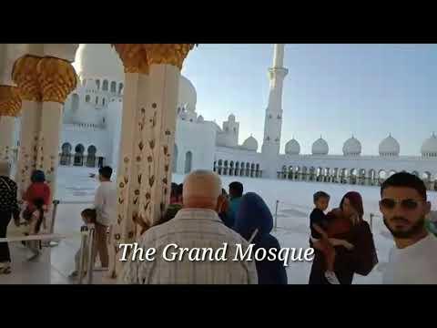 DUBAI FAMOUS PLACES | burj khalifa | grand mosque