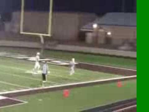 40 yard interception- Barwise middle school