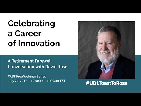 Celebrating a Career of Innovation: A Retirement Farewell Conversation with David Rose
