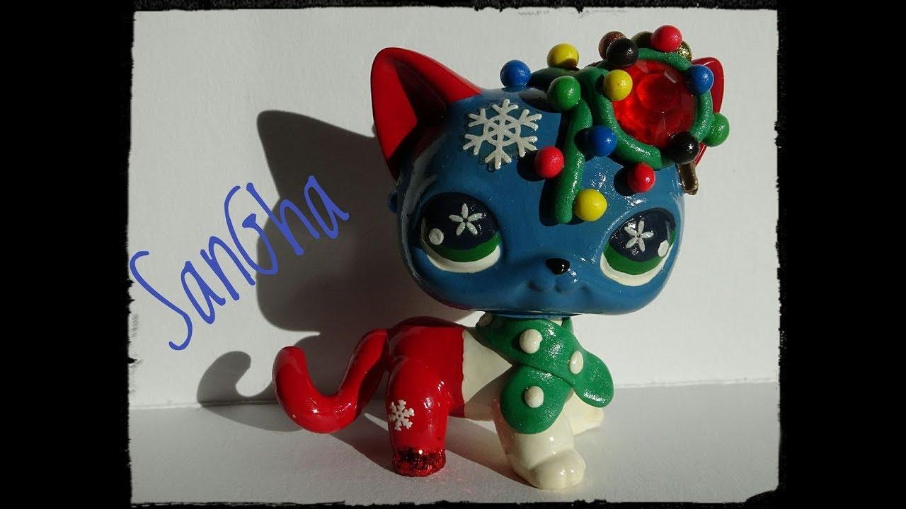 Timelapse custom chat européen festif noël petshop ...