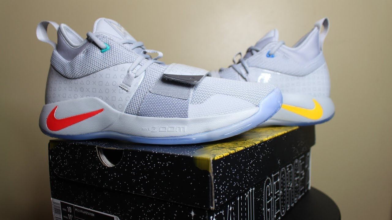 81322c1781e0 Paul George s Nike PG-2.5 PlayStation Review   Sneaker Pick Up ...