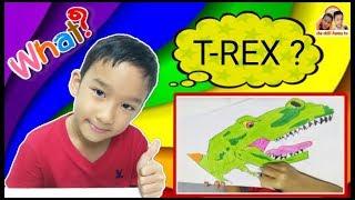 เช วาดรูปไดโนเสาร์ T-REX ???