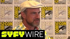 Happy! Brings Together Christopher Meloni and Patton Oswalt | San Diego Comic-Con 2017 | SYFY WIRE