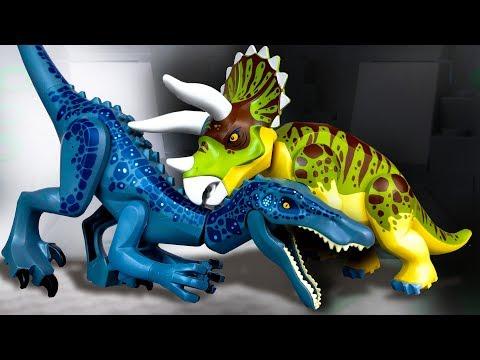 Барионикс против Трицератопса 🔴 LEGO Мультики про Динозавров