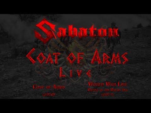 Sabaton - Coat of Arms - Live (Lyrics English & Deutsch)
