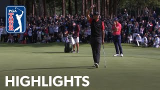 How Tiger Woods won his 82nd PGA TOUR title | ZOZO 2019 Extended Highlights