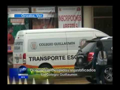 Denuncia maestra despido injustificado del Colegio Guillaumin