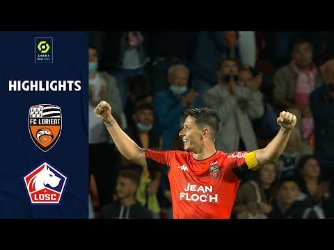 FC LORIENT - LOSC LILLE (2 - 1) - Highlights - (FCL - LOSC) / 2021-2022