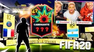 ¡ABRIENDO SOBRES DE FIFA 20 CON EL ESCUADRÓN!! - Ampeter