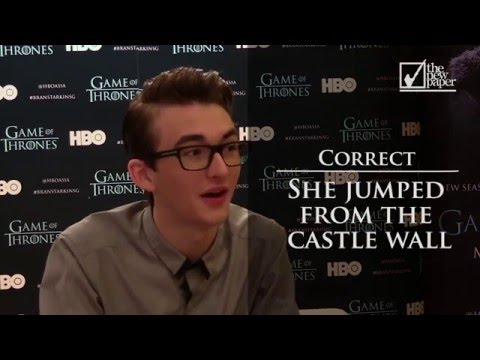 Game of Thrones Quiz with Isaac Hempstead Wright