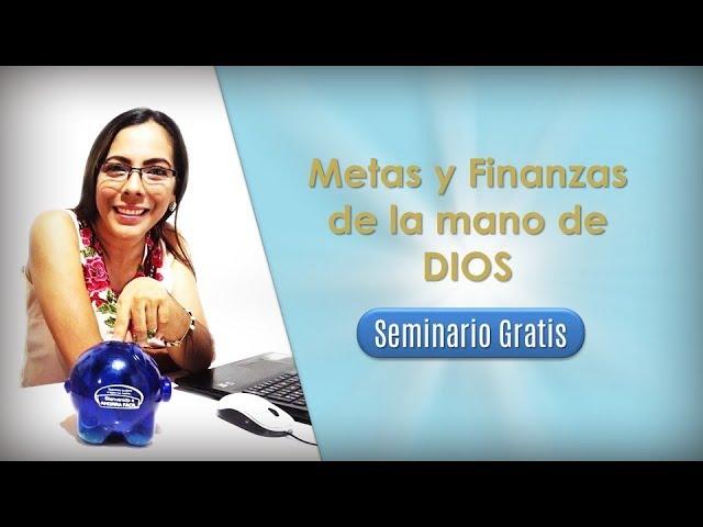 PRODUCTIVIDAD METAS Y FINANZAS DE LA MANO DE DIOS - CURSO GRATIS
