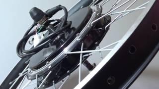 Мотор колесо для электровелосипеда 1000Вт от Electro-Customs.com обзор и тест драйв.