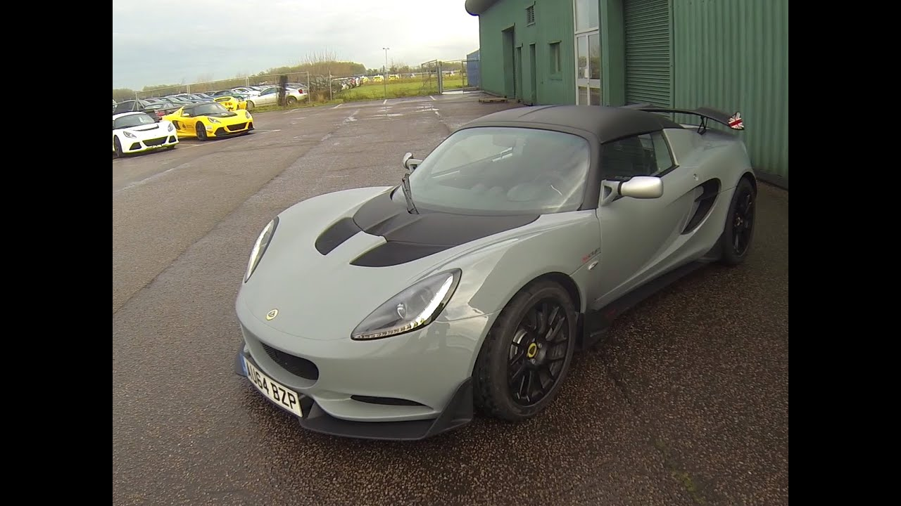 Essai Lotus Elise S Cup - YouTube