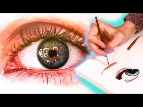 Drawing Realistic and Anime Eyes
