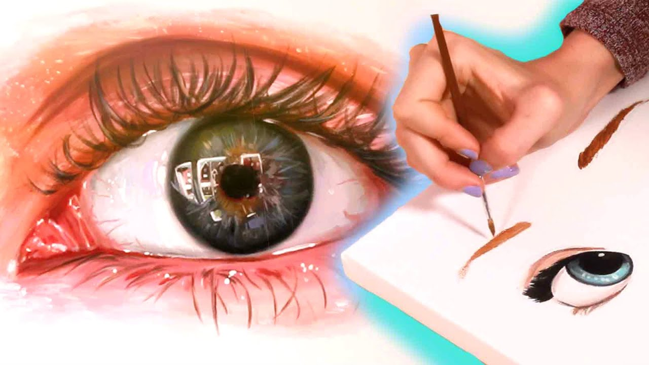Drawing Realistic and Anime Eyes   YouTube Drawing Realistic and Anime Eyes