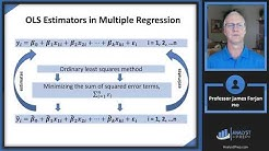 Regression with Multiple Explanatory Variables (FRM Part 1 2020 – Book 2 – Chapter 8)