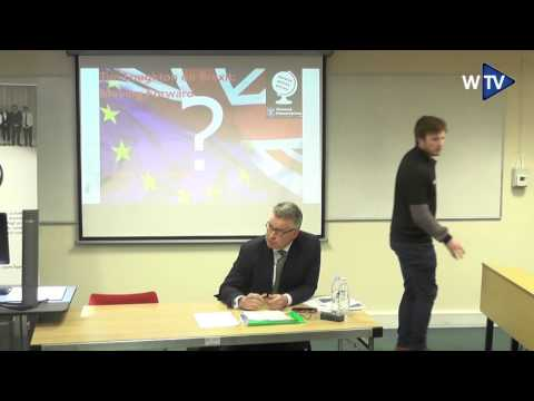 'Brexit: Moving Forward plus Q&A' with Tim Loughton MP   Warwick Politics Society