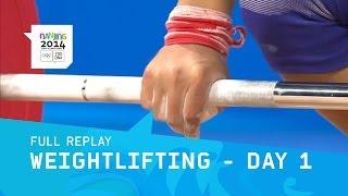 Weightlifting - Meng Cheng takes Men