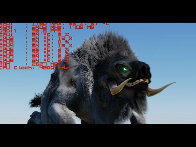 Unreal Engine 4 - Nvidia HairWorks Tech Demo & Download Link