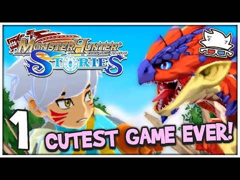 CUTEST GAME EVER! | Monster Hunter Stories #01 - ChaoticShadow24
