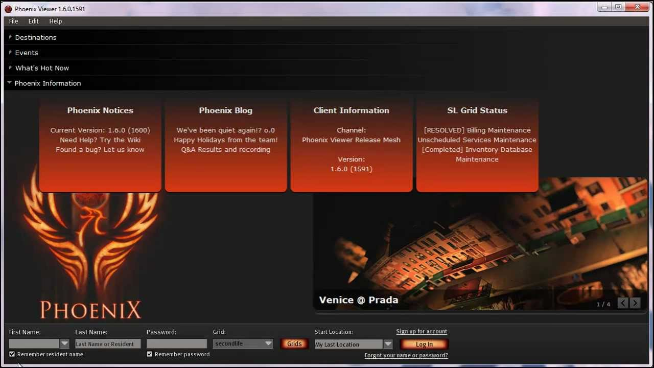 Second life download phoenix viewer for sl