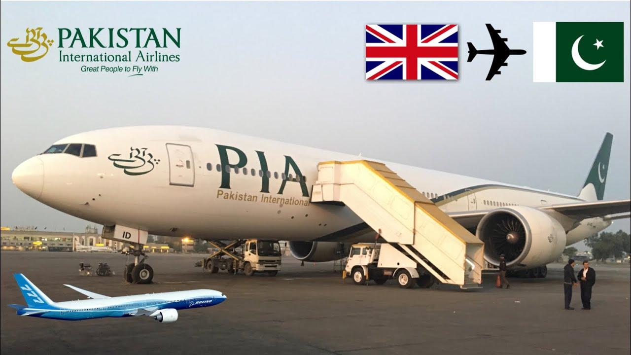 pakistan international airline report Pakistan international airline 777 on short final runway 30 ( oprn) evening time.