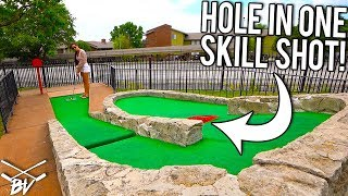 Mini Golf Skill Shots For Bonus Hole In Ones!