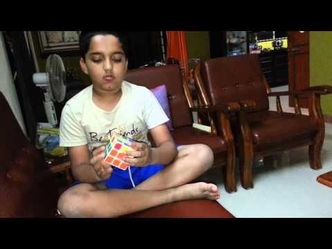 Anirvan Rubic Solving