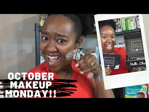 October Skincare & Personal Care Favorites Plus Boxycharm Unboxing| Makeup Monday! thumbnail