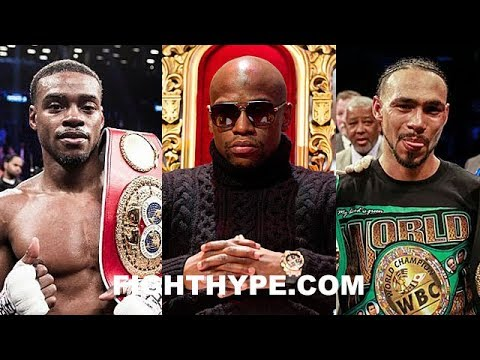 MAYWEATHER REVEALS IF ERROL SPENCE OR KEITH THURMAN IS TOUGHER FIGHT AND NAMES BIGGEST PPV FIGHT