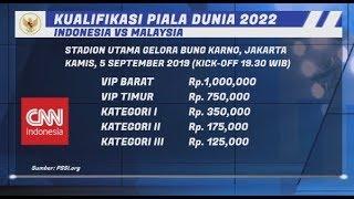 PSSI Rilis Tiket Indonesia VS Malaysia, Ini List Harganya!