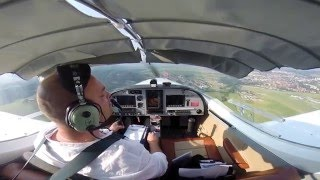 Landing at Prievidza (LZPE) with PS28 Sport Cruiser